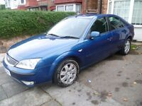 MONDEO ZETEC TDCi, 2007 REG WITH LONG MOT, 6 SPEED GEARBOX, TOP SPEC, ALLOYS, CD PLAYER & CLIMATE