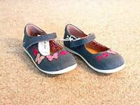 Brand new girl's Shoes UK12 bluezoo