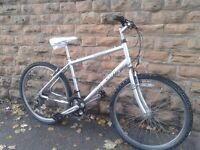 Raleigh Tundra Light Weight Aluminium Hybrid Mountain Bike