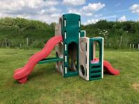Little tikes slide climbing frame playhouse