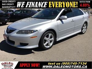 2004 Mazda MAZDA6 GS-V6 SUNROOF LEASES NO CREDIT CHECK