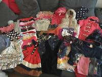 Large Bundle of girls clothes size 3-4 years