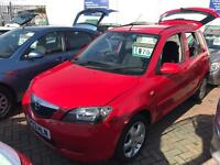 2003 03 MAZDA 2 CHEAP BARGAIN CAR SUPERB DRIVE AND CONDITION SOLD WITH NEW MOT IDEAL CITY RUNAROUND