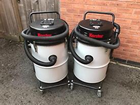 2 industrial 3 speed motor Vacuum Cleaners