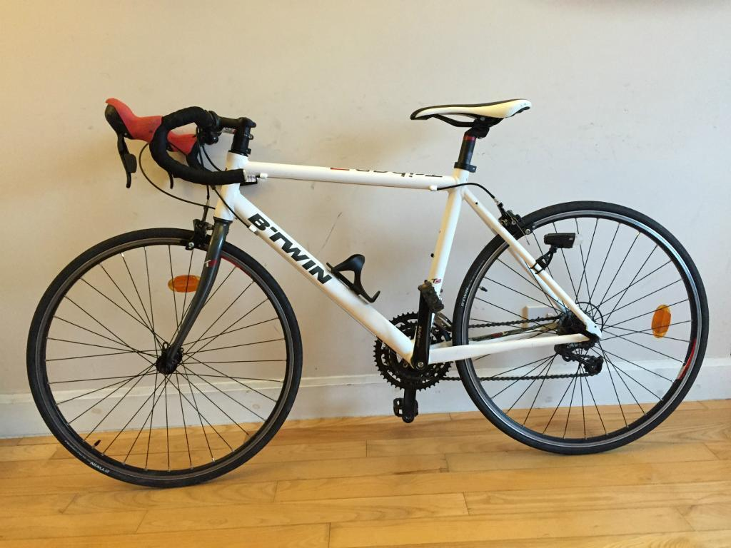Triban 5 road bike black btwin all bikes cycling on html for Triban 300