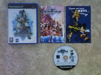 KINGDOM HEARTS 2 + STRATEGY GUIDE PS2