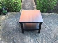 Dark Brown Table