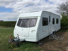 2007 Lunar Solaris 2, 4 berth, twin axle, with motor and full length awning