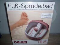 Relaxing Beurer Foot Spa