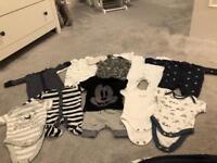 Baby boy bundle first size