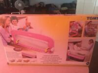 Tomy bed /cot rail
