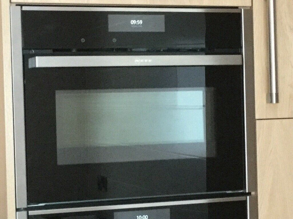 Neff C28ct26nob Compact Easy Clean Single Electric Oven Stainless