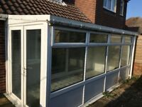 Conservatory lean too free too collecter, must dismantle