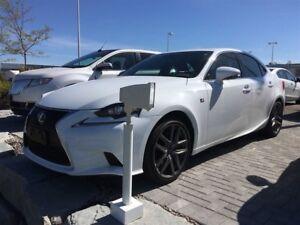 2016 Lexus IS 350 AWD F Sport F SPORT PKG. AWD LEATHER, SUNROOF,