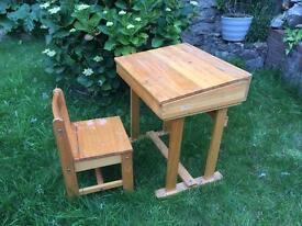 Wood Children's Desk