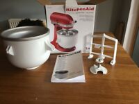 Kitchen aid (kitchenaid) ice cream maker New in box