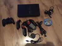 Playstation 2 with 1 game