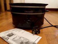 Crock Pot Stoneware Slow Cooker