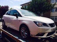 2014 Seat Ibiza 1.4 Toca Sport (Facelift) Salvage Damaged Repairable a1 polo fabia polo