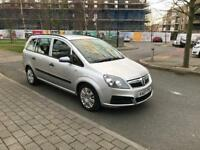 Vauxhall Zafira 1.6 Petrol Seven Seater HPi Clear and Low Mileage Excellent Runner