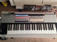 Novation SL 49 MKII midi keyboard with auto map