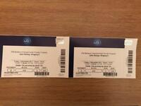 John Bishop tickets 2x - winging it tour. 3rd Nov at the O2
