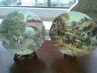 Collectable wedgwood plates