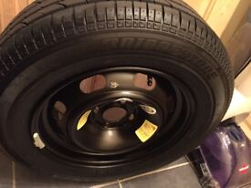 New wheel 195/ 65 R15 & new rim