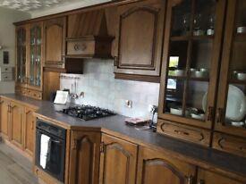 Complete kitchen for sale - chestnut