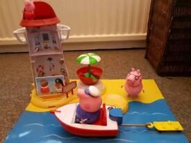 Peppa Pig lighthouse