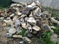 Rocks for garden landscaping