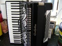 german 120 bass accordion as new