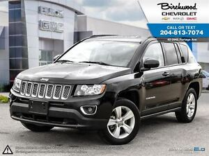 2015 Jeep Compass High Altitude 4WD   LEATHER   SUNROOF