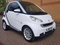 SMART FORTWO PASSION 2008 AUTOMATIC WITH PAN-ROOF, AIR CON, CD/AUX, £30 TAX A YEAR, LOW INSURANCE,
