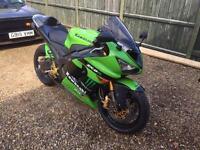 Kawasaki zx6r 636 ninja stunning bike low miles