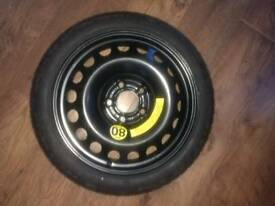 Vauxhall spacesaver spare wheel