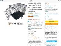 Ellie Bo Large dog crate