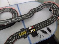 MINI COOPER BATTERY OPERATED ROAD RACING SET like Scalextrics - VGC!!