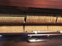 Pianola with 26 rolls.