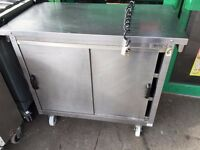 CATERING COMMERCIAL HOT CUPBOARD HOT FOOD PLATE WARMER CAFE KEBAB CHICKEN RESTAURANT KITCHEN SHOP