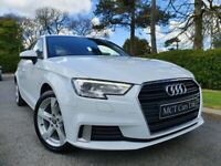 2017 Audi A3 1.6 TDI Sport 5dr ONE OWNER, FULL AUDI S/H, GLACIER WHITE METALLIC, AS NEW