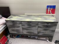 Painted Vintage Wooden Upcycled Sideboard