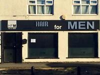 Barbers shop for rent