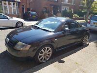 Audi TT QUATTRO Black, great condition