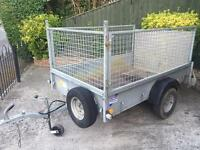 Ifor Williams p6e trailer + mesh sides/ramp/spare wheel