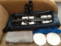Williams F1 car cleaning and polishing kit