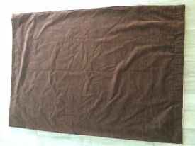 Brown textured curtains for sale