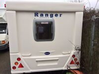 BAILEY RANGER 510/4 2007/8 VERY LIGHT AND VERY NICE THROGHOUT,ALL SEEN WORKING WITH MOVER