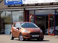 FORD FIESTA 1.0 ZETEC 5dr ** Full Ford Service History ** (bronze) 2015