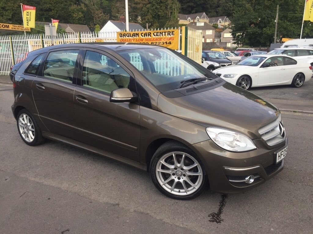 mercedes benz b class 1 7 b170 sport cvt 5dr auto brown 2009 in baglan neath port talbot. Black Bedroom Furniture Sets. Home Design Ideas